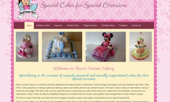 Clara's Custom Cakery